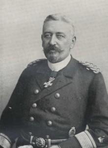 Min tipoldefar, Admiral Volkmar von Arnim, var efter sigende en meget streng autoritet i det Arnimske hjem. Børn skulle ses og absolut ikke høres og disciplinen blev strengt håndhævet.