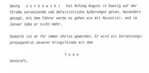 Dommen over postbuddet Jurkowski.