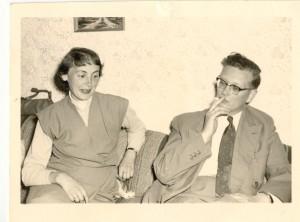 Den håbløse soldat og intellektuelle læge Bernd i 1956.